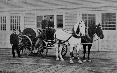 Horse Drawn Carriage 1900 Horse Drawn Hose Carriage